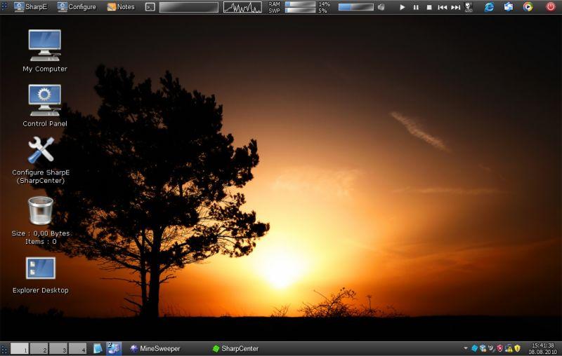 SharpEnviro делает из Windows настоящий Linux